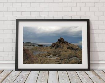 Sea Wall Art Printable Photography Seaside Ocean Digital Print Nautical Decor