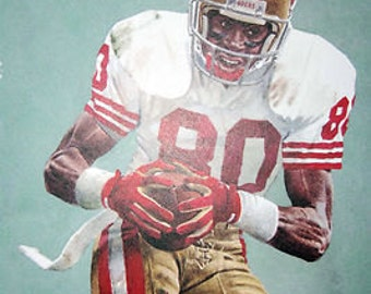 Jerry Rice San Francisco 49ers Limited Print
