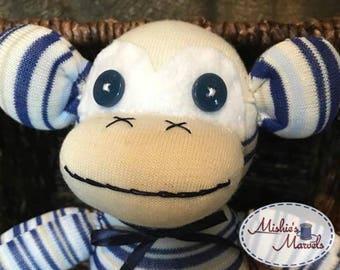 Sock Monkey (stripes)