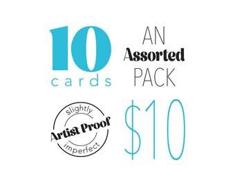 Artists Proof Card Pack {Assortment of 10} Grab bag