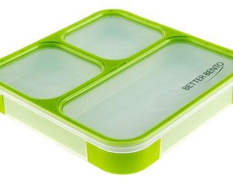 Better Bento Lunch Box Great for School, Portion Control, and Meal Prep