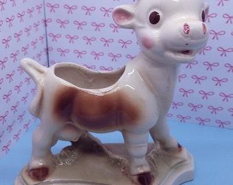 Nursery Planter Vintage Cow - Check description!!