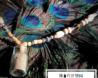 Dust of Vraja Capsule Necklace