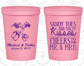 Light Pink Stadium Cups, Light Pink Cups, Light Pink Party Cups, Light Pink Wedding Cups (357)