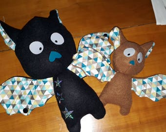 Soft toys by two