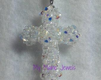 Crystal Cross Pendant