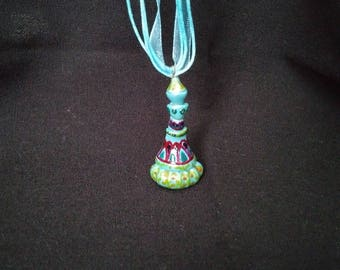 Jeannie Bottle Necklace Hand Made and Painted
