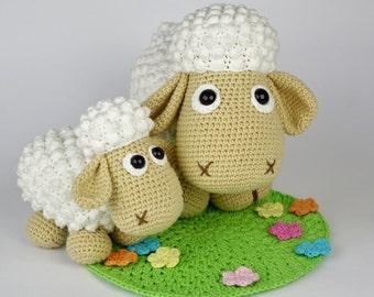 Sheep Wolli and Lamb Lucky Crochet Pattern