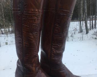 Beautiful Lucchese tall boots!