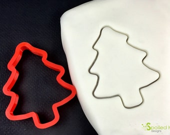 Christmas Tree Cookie Cutter Holiday Cookie and Fondant Cutter