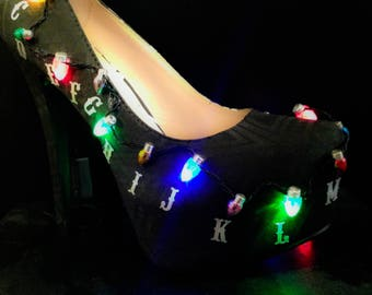 Stranger things shoes.