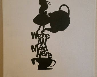 Alice art on canvas