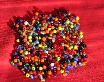 Rokajl 2mm color mix / shiny  (11g)