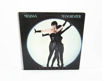 Vinyl Record Album, Melissa Manchester Emergency LP,  1983 Arista Records,  Adult Contemporary, American Pop Singer Songwriter, 1980's Music