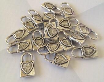 Heart lock - 9 pieces