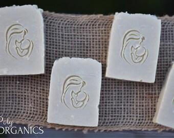Organic Baby Soap (olive oil soap, castile soap, vegan soap, made in Canada)