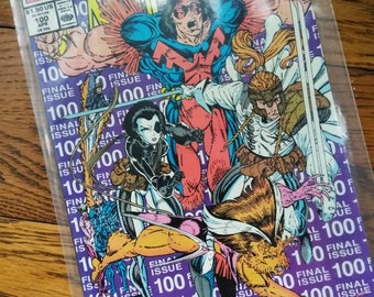 The New Mutants Final Issue