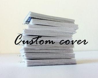 Custom mini book jewelry any cover