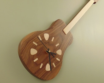 Guitar Clock - Made to Order