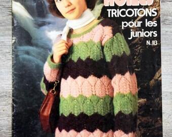 Nimble fingers - knit Juniors 113 (Vintage)