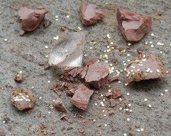 PARTY Favors DWARVEN Mining Stones, SET of 10, Birthday, Fairy, Dwarf, Gnome, 7 Dwarves