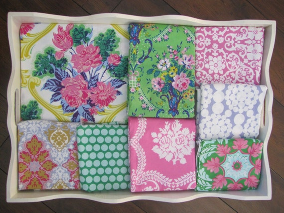 Pink and Green Jennifer Paganelli Quilt Made to Order