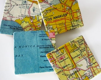 Los Angeles coasters - as seen on Apartment Therapy