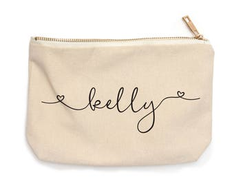 Personalized Makeup Bags for Bridesmaids - Personalized Bridesmaid Gift - Bridal Party Gifts - Bridesmaid Cosmetic Bag - Gift for Her