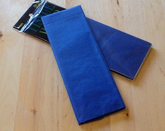 Royal Blue Tissue Paper - 10 Sheets - Gift Wrap - Craft and Party Supplies