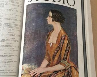 Ex Libris Bound International Studio Vol 33 1926 Jan-April