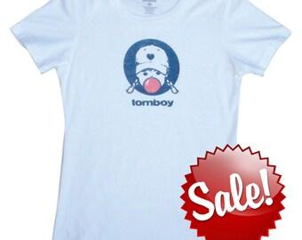 Bubblegum Tomboy Shirt Vintage T Shirt Baseball Softball Gift