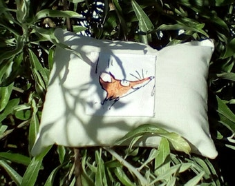 Fantastic Mr Fox Tooth Fairy Cushion