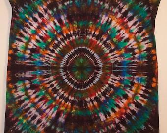 Blackhole Tie Dye Tapestry 4x4'