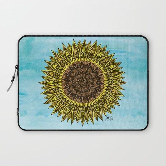 Zentangle - Sunshine Laptop Sleeve