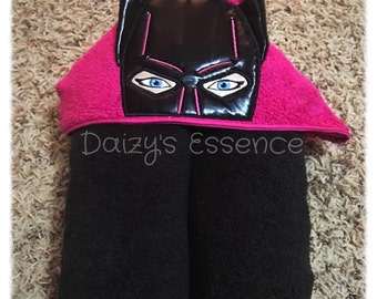 Batgirl Hooded Towel