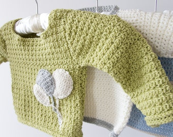 Lovely sweater for a baby girl or boy