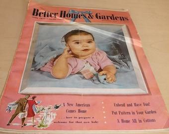 Better Homes & Gardens Vintage Magazines (2)