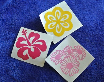 Flower Vinyl Decal