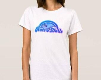 Custom Retro Dolls US T-Shirt