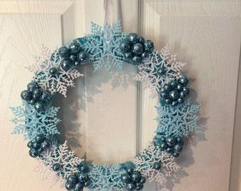 Snowflake Winter Winderland Wreath