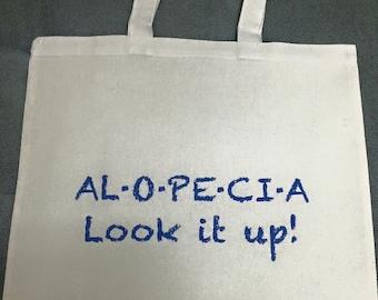 Alopecia look it up tote