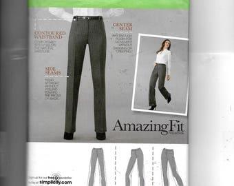 Simplicity Misses' /Miss Petite Pants  Pattern 2860