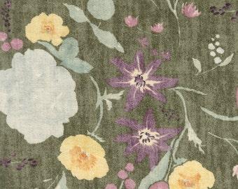 Nani Iro Japanese Fabric Kokka Fuccra : rakuen AW - D - 50cm