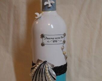 Dreams Come True - Seashell Bottle