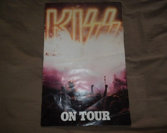 Kiss Tour Book 1976 Rock and Rollover