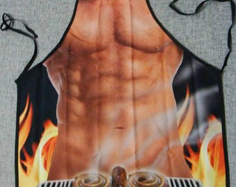 Chef, cook, BBQ funny apron