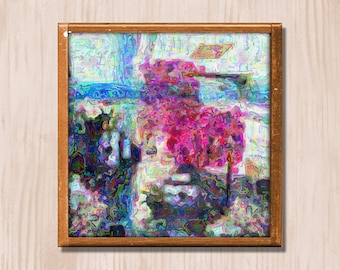 Abstract - Instant Downloadable Art Print Digital Wall Art Printable Abstract Art Home Decor