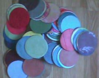 100 Paper Shapes - Circles
