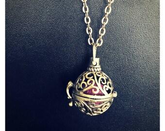 Antique Bronze Essential Oil Diffuser Necklace
