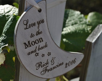 Newlywed Christmas Ornament - Just Married - Sweet Heart Ornament , Newlywed Chrsitmas Gift